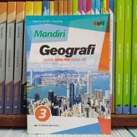 Buku Mandiri Geografi Kelas 3 / XII 12 Sma K13N Erlangga