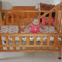 Baby Box / Baby Crib / kasur baby second tapi masih baguus (kayu jati)