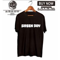 Kaos Baju GREEN DAY GREENDAY Kaos Band Musik - Gilan Cloth