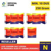 PAKET GARAM DIET LOSOSA PAKET RESELER MINIMAL 10 DUS 250 GRAM