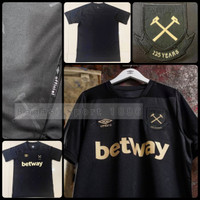 Jersey West Ham United 3rd 2020-2021-2022-dst Baju Bola Hammers Third