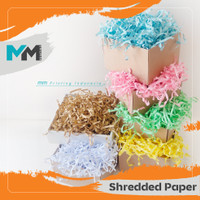 Gift Box Filler/Shredded Paper/isian parcel/kertas cacah/isi packing/k