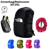 cover bag rain cover daypack ransel tas tnf 30l 35l waterproof