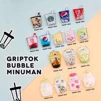 POP SOCKET COCA COLA STARBUCK MINUMAN BUBBLE TEA Phone Holder