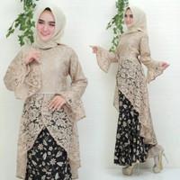 Baju Kebaya Wanita Baju Muslim Wanita Terbaru Kebaya Raswa Fit to XL