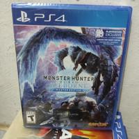 PS4 MONSTER HUNTER WORLD ICEBORNE MASTER EDITION