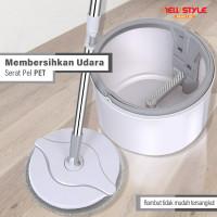 Spin Mop D31 Alat Pel Lantai Super Mop Alat Pembersih Praktis Otomatis