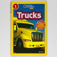 National Geographic Kids Level 1 Trucks, Buku Import Anak