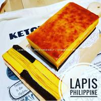 Lapis philipine sugar free    Kue Lapis philipine keto    Kue keto