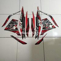 stiker striping Jupiter MX new 135 2014 hitam merah
