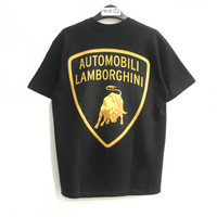 Supreme Automobili Lamborghini T-shirt Black 100% Original