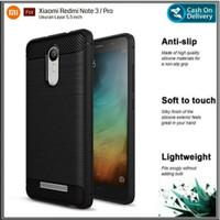 Xiaomi Redmi Note 3 Pro Soft Case Carbon Fiber Anti shock Crack Cover