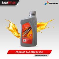 Pertamina Prima XP - 20W-50 API SL Oli Mobil Kemasan Isi 1 Liter