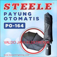 Payung Steele Otomatis Buka dan Otomatis tutup Payung Lipat PO-164