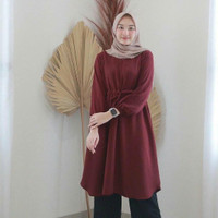 Baju Atasan Wanita Terbaru Salwa Tunik Termurah |tunik Remaja 2020
