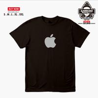 Kaos Baju Handphone Apple Logo Kaos Gadget - Karimake