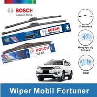Bosch Wiper Depan & Belakang Toyota Fortuner Frameless 21 & 19 + H307