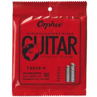 1 Set Senar Gitar Orphee Akustik / Acoustic Pure Copper Orphee TX620-P