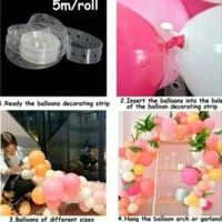 Strip dekor Balon Panjang 5 meter