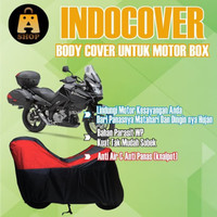 cover motor / sarung motor / selimut motor sport touring full box - hijau stabilo