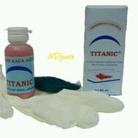 Pembersih Kerak Kaca Aquarium Titanic