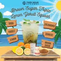 Brown Sugar Triple Lemon Yakult Squash