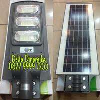lampu jalan solar cell 90 watt /pjuts 90 w / PJU LED all in one 90w