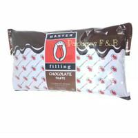 Selai Coklat / Chocolate Filling Pasta merk Tulip repack 500 gr / gram