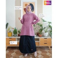 ATASAN NIBRAS NA 045 / Baju Atasan Wanita Muslim Nibras NA Terbaru