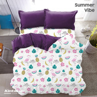 Bed Cover Only Kintakun New Luxury Summer Vibe - Ukuran 230 x 170 cm