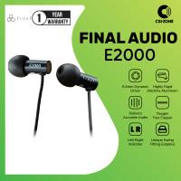 Final Audio E2000 / E 2000 Hi-Res In Ear Earphone