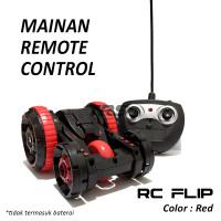 Mainan Anak Remote Control Ardiles RC Flip Car Red