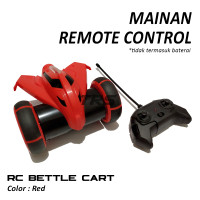 Mainan Anak Remote Control Ardiles RC Bettle Car Red