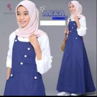 ARRA OVER ALL / Baju muslim anak tanggung terbaru/gamis anak terbaru