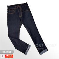 Celana Jeans Pria / Denim Selvedge Accent Shell Stich Pria 13.5oz