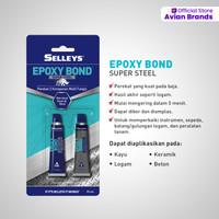 Lem Epoksi untuk Besi - Epoxy Bond Super Steel (2 Komponen)