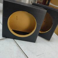 Box Speaker 6 inch bahan mdf sepasang