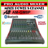 Power Mixer AB Am-Gm8P 8 Channel Pro Audio Mixer AB 8 Channel Original
