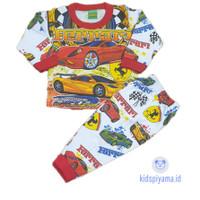 Baju Tidur Anak/Piyama Anak Mobil Balap 1-8 Tahun - 2