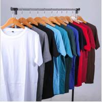 Kaos Polos Atasan Oblong Pria / Wanita Katun PE Terlaris