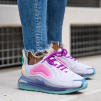 Sepatu Pria Wanita Anak Nike Air Max 720 White Light Chalk Blue