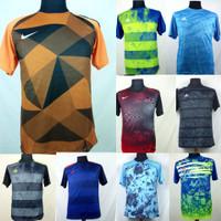Baju Kaos Sepak Bola/Futsal Dri-Fit Print Dewasa