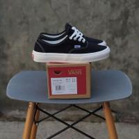 Sepatu Vans Authentic OG Mono Black White Unisex Premium BNIB Quality