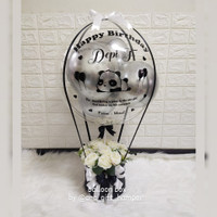 balon box / balloon bouquet / buket balon / balon bunga /buket bunga