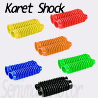 Karet Shock Shok KLX GTX Pelindung Shok Depan Tele Cover Shock