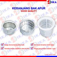 Keranjang AFUR BAK CUCI PIRING stainless ANTI KARAT / Saringan filter