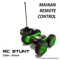 Mainan Anak Remote Control Ardiles RC Stunt Car Green