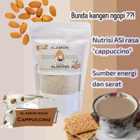 Susu Almond/ Alamon Milk/ Asi Booster/ Pelancar Asi Cappuccino - Cappucino