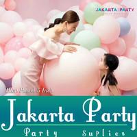Balon Latex Macaron JUMBO / Balon Latex Pastel / Balon Doff Pastel