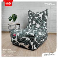 Beanbag / Bean bag Bndly. model Sofa Chair Size L ( termasuk isi )
